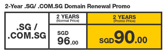 SG Domain Renewal