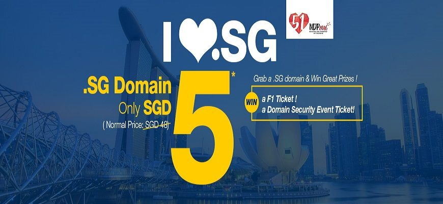 I LOVE .SG Promo: SGD 5 Deal & Amazing GIVEAWAY!