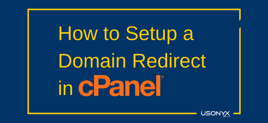 How to Setup a Domain Redirect in cPanel