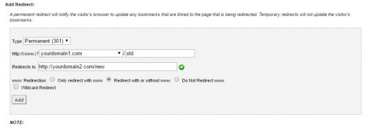 domain-redirection
