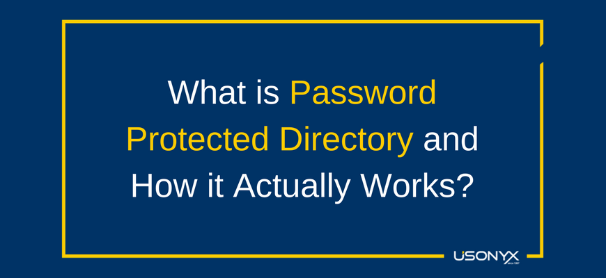 What is a Password Protected Directory and How it Actually Works?