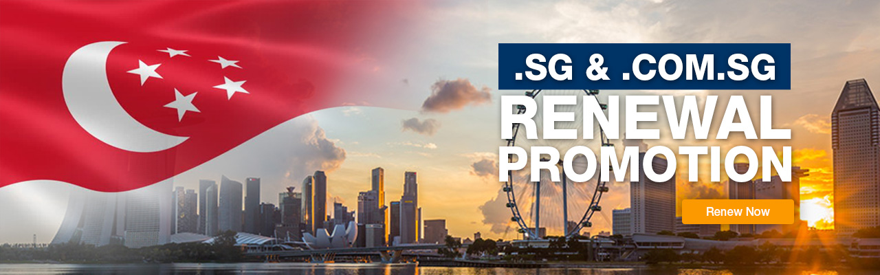 SG domain renewal promotion