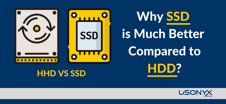 Why SSD is Much Better Compared to HDD?
